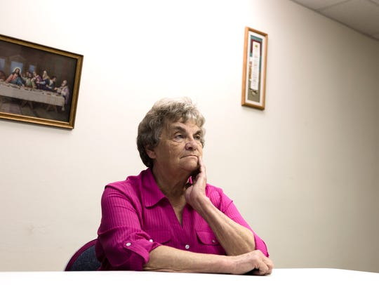 Judy Morrow, coordinator of the House of Mercy, a home
