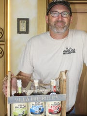 Dan Gibson, creator of Villa Hillbillies Moonshine.