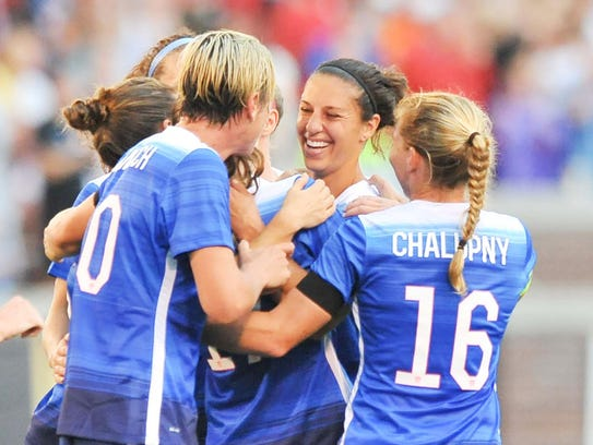 Carli Lloyd's scoring in 2015 was one of the most remarkable