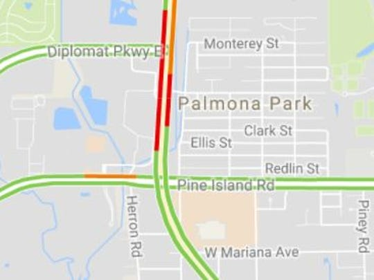 A crash has closed U.S. 41 in both directions at Diplomat Parkway in North Fort Myers, according to the Lee County Sheriff's Office.