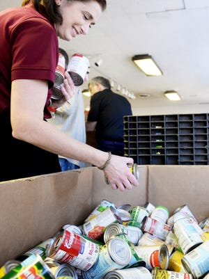 The Food Bank calculates it provides $14 million annually in food for its partner organizations.