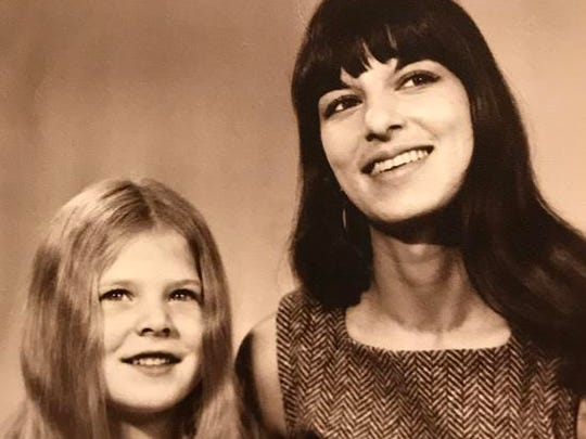 Tammy Baldwin (L) in an undated photo with her mother, Pamela Joan Bin-Rella