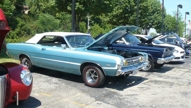 Some of these cars participated in the Saturday cruise through sections of Brighton, Howell and Fowlerville.