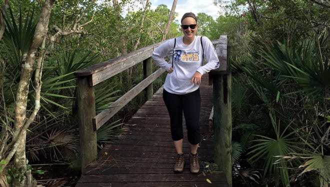One of Laurie K. Blandford's favorite local hikes is Spruce Bluff Preserve in Port St. Lucie.