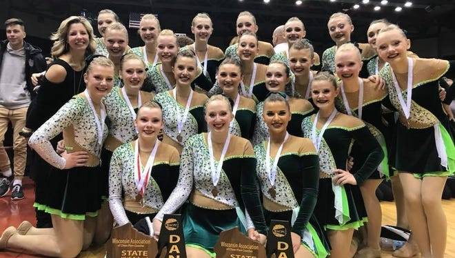 The D.C. Everest dance team achieved two top-five finishes in Division 1 state competition.