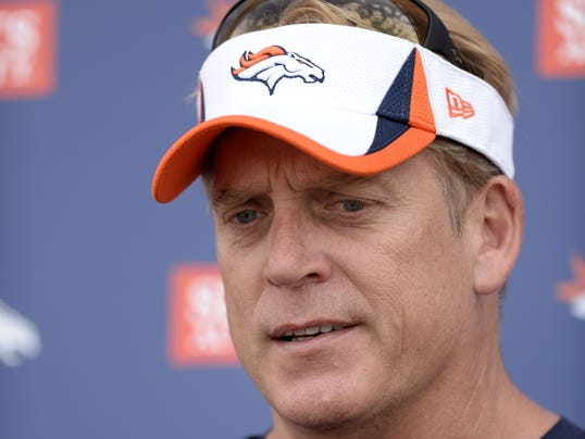 USP NFL_ Denver Broncos-Training Camp
