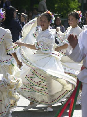 The Latino Parade in North Bergen in this 2000 file photo.