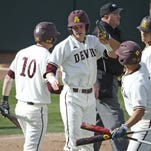 ASU baseball rained out after two innings Saturday