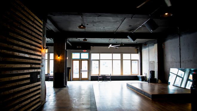 Shooks is a new bar located at 920 Race Street that features two bars and a dance floor. It will open this spring.