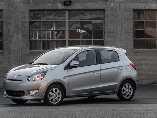 Behind The Wheel 2015 Mitsubishi Mirage