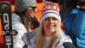 Lindsey Vonn says maybe she can pull off a miracle and medal in the Alpine combined.