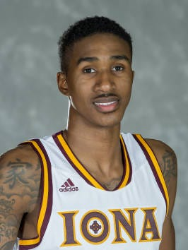 Headshot of Deyshonee Much, who scored 21 points in 26 minutes in Iona's 90-80 defeat of Marist on Jan. 9, 2016.