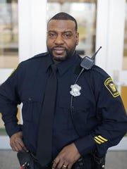 Officer Eddie Hawkins is president of the Sentinel