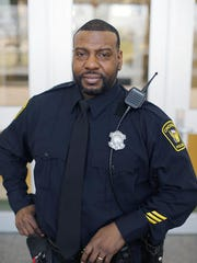 Officer Eddie Hawkins is president of the Sentinel