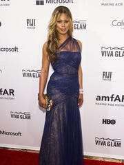 "Laverne Cox, the openly transgender actress on ""Orange"