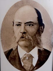 A photograph of George Latimer, the great-great grandfather