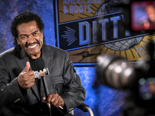 Bobby Rush in front of the cameras for DittyTV, a Memphis-based,