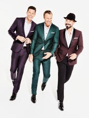 The Tenors: Clifton Murray (from left), Fraser Walters