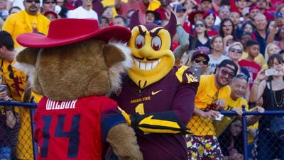 The 89th Territorial Cup football game is Saturday in Tempe. Arizona leads the rivalry series 48-39-1 over ASU.