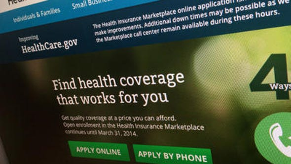 The healthcare.gov website is where consumers can search