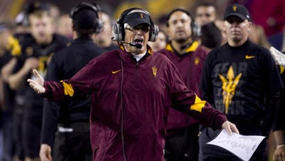 Dennis Erickson's job security already was in question before a 31-27 Territorial Cup loss to Arizona in 2011. Erickson later lost his job after five seasons.