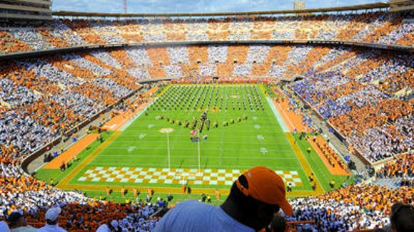 Tennessee fans' 'Checker Neyland' initiative was a smashing success against Florida.