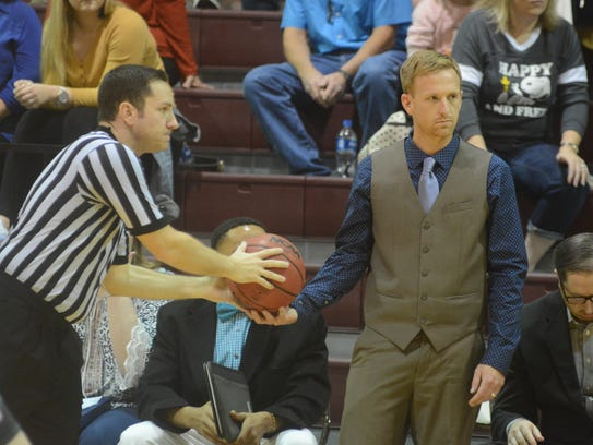 East Texas Baptist women's basketball coach Rusty Rainbolt,