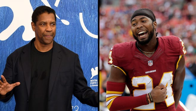 """Emmanuel Sanders says Josh Norman was just like Denzel Washington in """"Training Day"""" during this prank."""