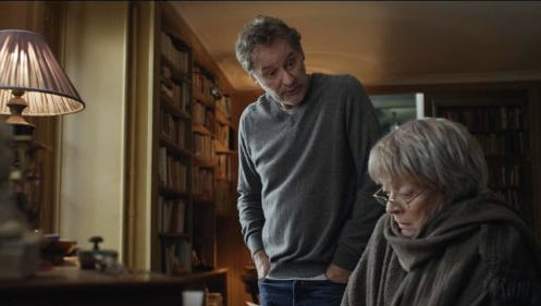 """Kevin Kline and Maggie Smith in a scene from """"My Old Lady."""""""