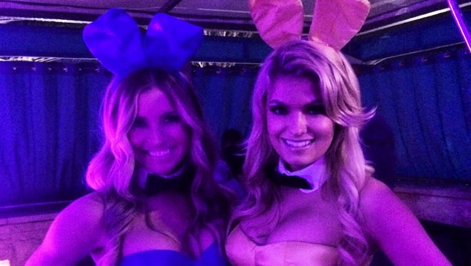 The Playboy Bunnies made the scene at the magazine's party Friday night at the W Scottsdale as rapper Nelly hosted.