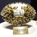 A football designed by Rebecca Minkoff would likely make a receiver weep.