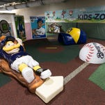 Family-friendly Miller Park upgrades include nursing suite and new kids play area