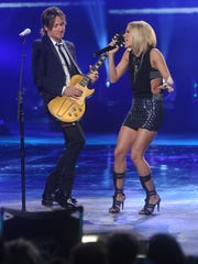 'American Idol' judge Keith Urban, left, and Season