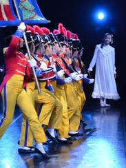 Clara inspects the troops in American Repertory Ballet's