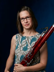 Cara Luffey is the principal bassoonist for the El