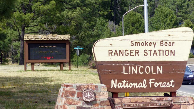The Smokey Bear Ranger District of the Lincoln National Forest is headquartered in Ruidoso.