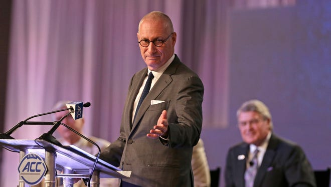 ESPN president John Skipper announced that 150 company employees will have their positions eliminated.