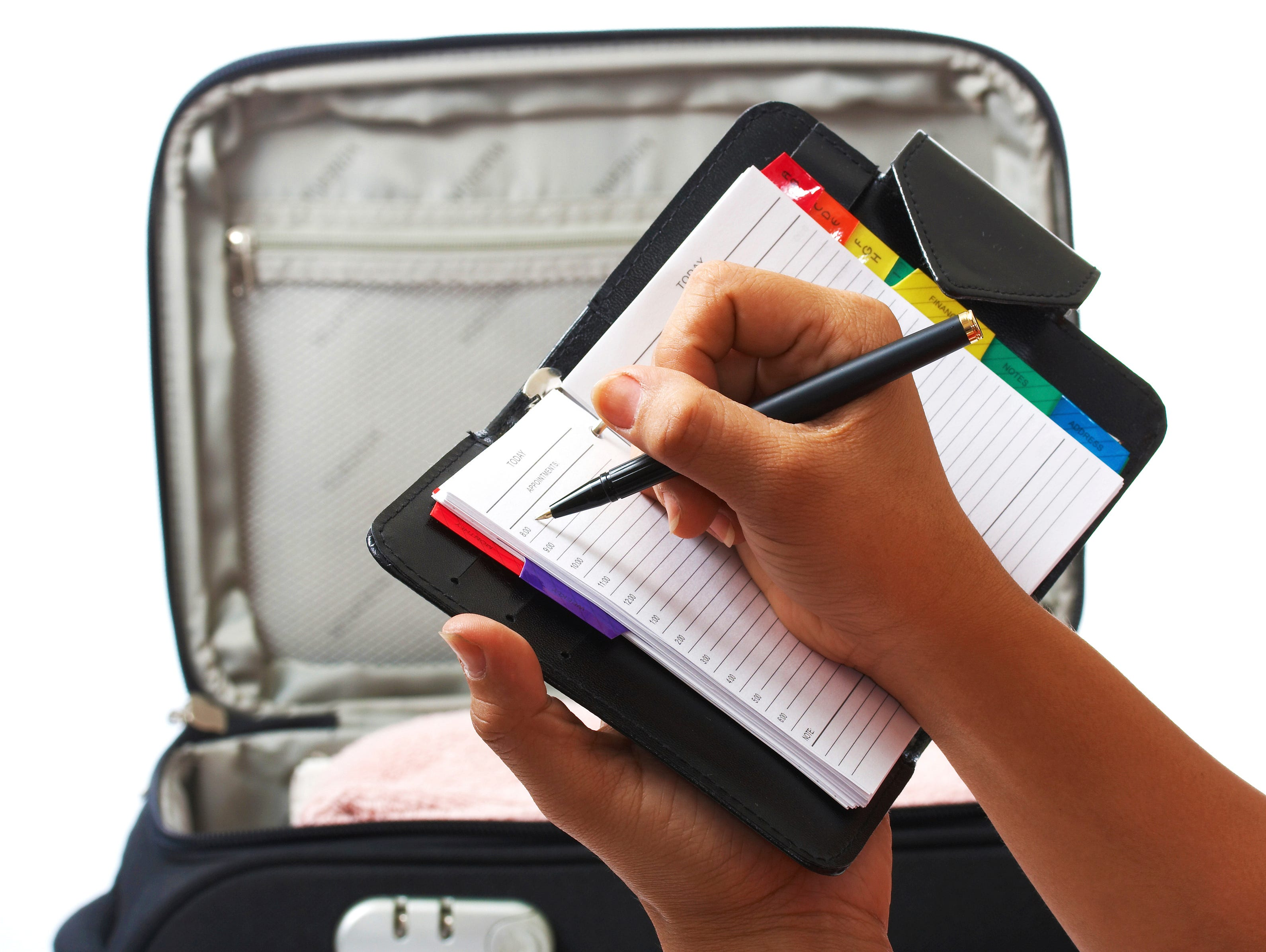 making a packing list
