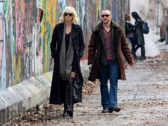 """Charlize Theron and James McAvoy star in """"Atomic Blonde."""""""