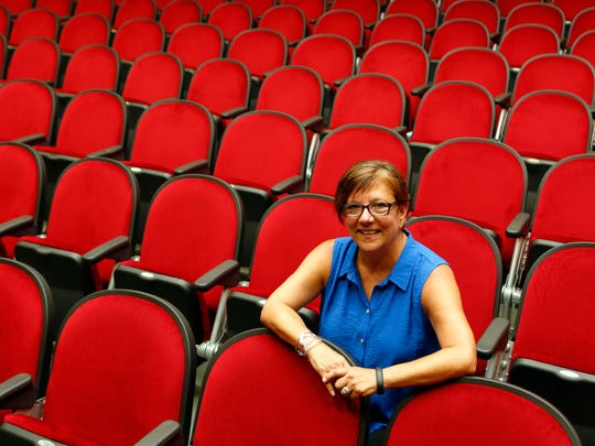 Karen Zambelli, who taught dance in Mount Vernon schools and choreographed musicals at Eastchester High School, retired this year after 38 years in the Mount Vernon School district. Karen Zambelli is photographed in the Grimes School auditorium, July 15, 2014 in Mount Vernon.