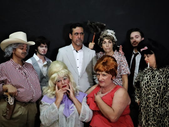 "The cast of ""Hush Up, Sweet Charlotte"" at Laboratory"