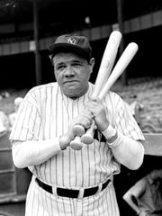 Baseball Hall of Famer Babe Ruth got away from it all