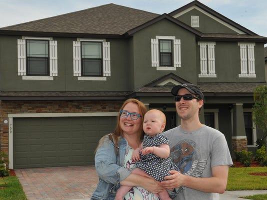 Millenials buy a new home