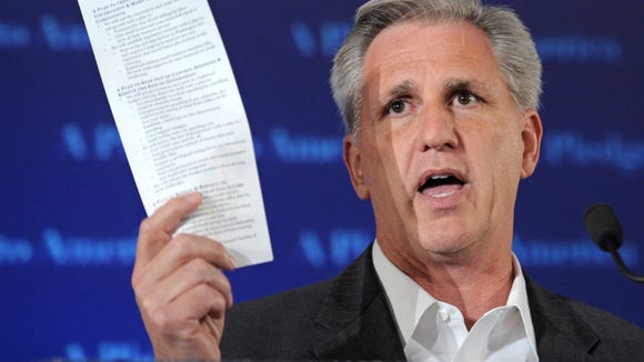 "House Majority Leader Kevin McCarthy blasted Google for listing ""Nazism"" as an ideology of the California Republican Party, calling it the latest attempt by a major technology company to undercut conservative voices and viewpoints."