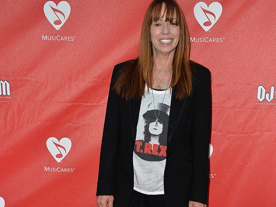 Actress Mackenzie Phillips attends the 10th annual MusiCares MAP Fund Benefit Concert at Club Nokia on May 12, 2014 in Los Angeles, California.