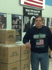 Raritan Borough resident Tom Cunningham of Operation Jersey Cares.