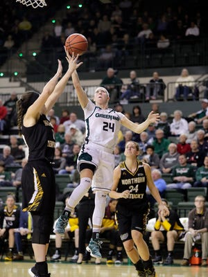 UWGB guard Allie LeClaire has scored more than 3,800 points during her high school, college and pro careers.