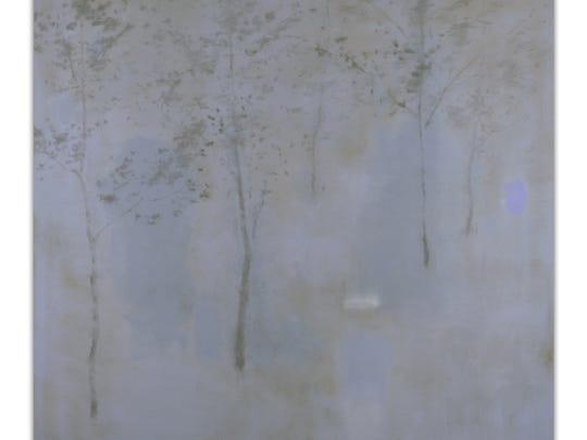 "Brad Durham, ""How the Land Talks,"" oil on canvas, 2015."
