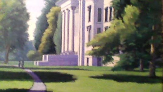 """Vanderbilt Mansion"" by Lawrence Paganelli."