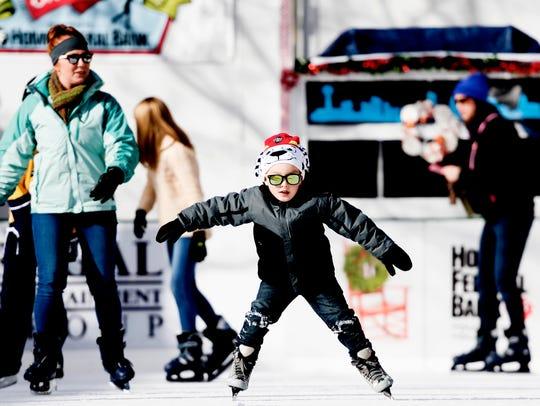 Market Square's ice rink will return on Nov. 23.